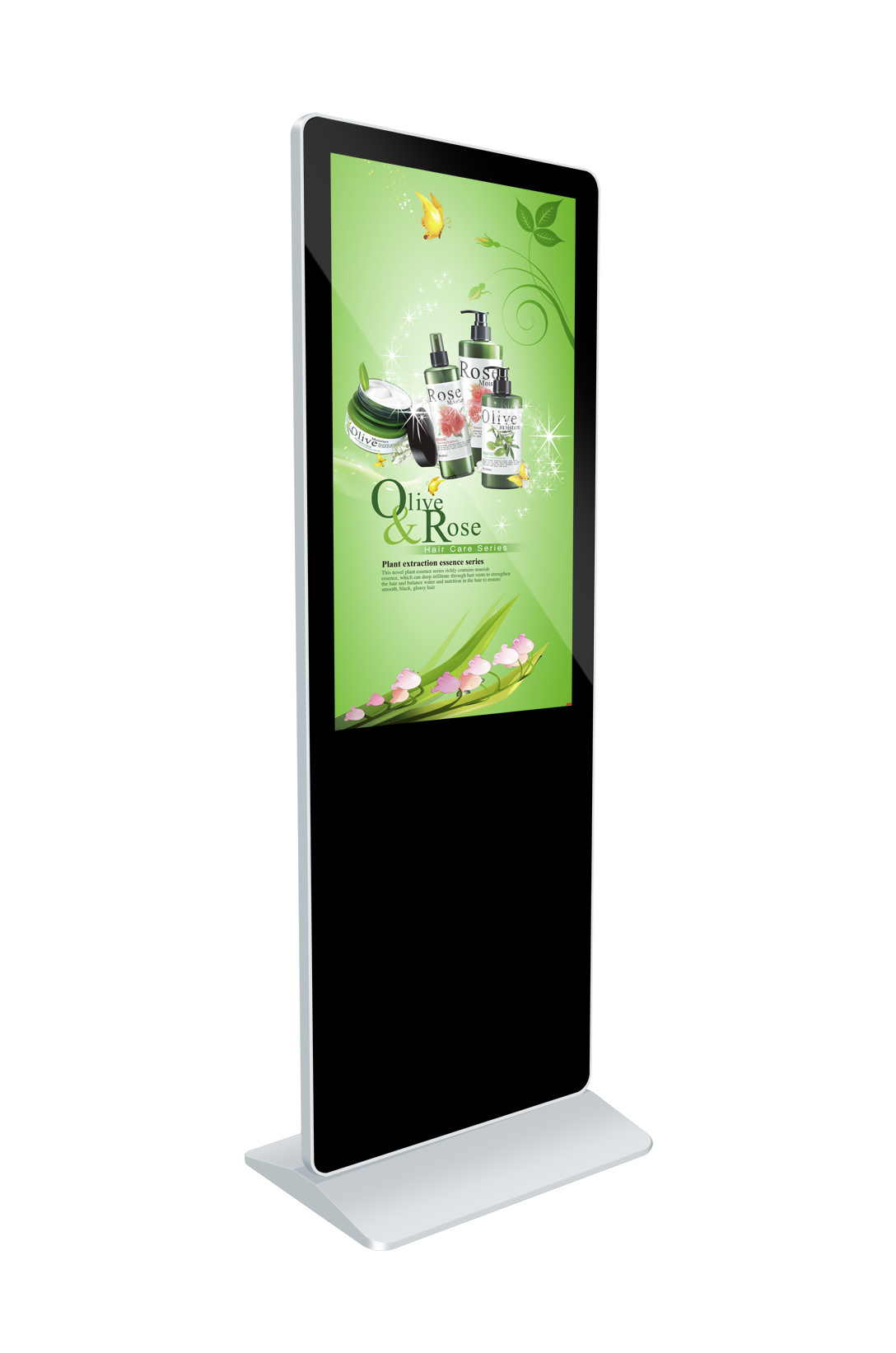 Best Price LCD Display 43 Inches Floor Stand for Advertising Player