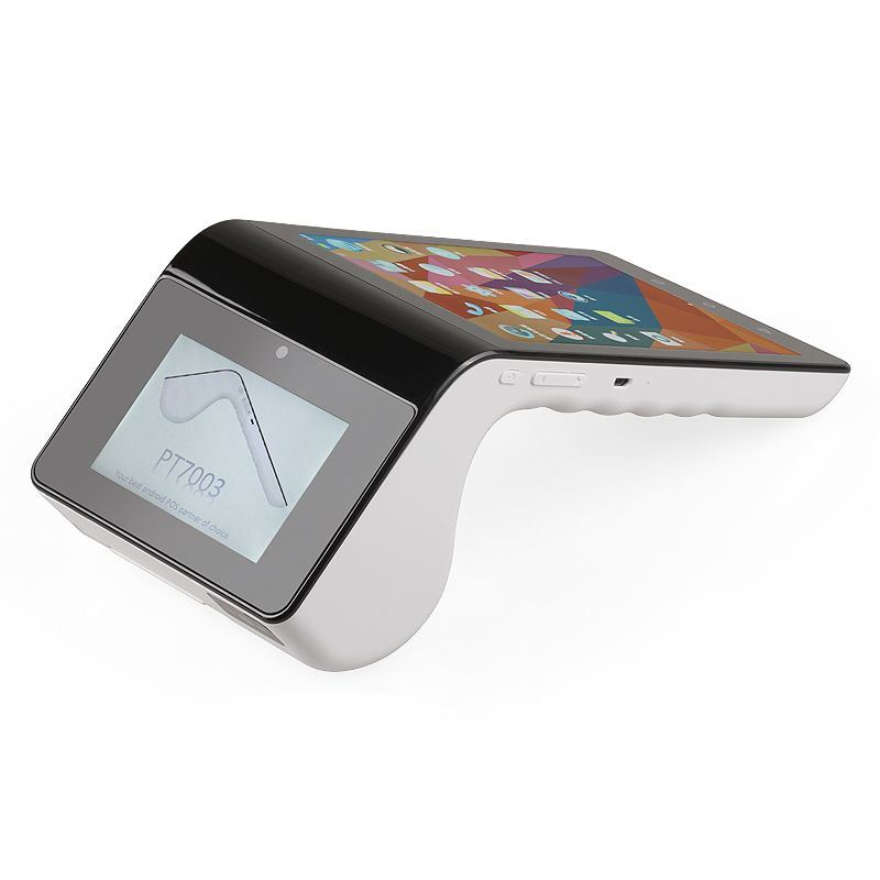 Dual Display Touch Screen POS Payment Terminal PT-7003 with Thermal Printer/NFC Card Reader