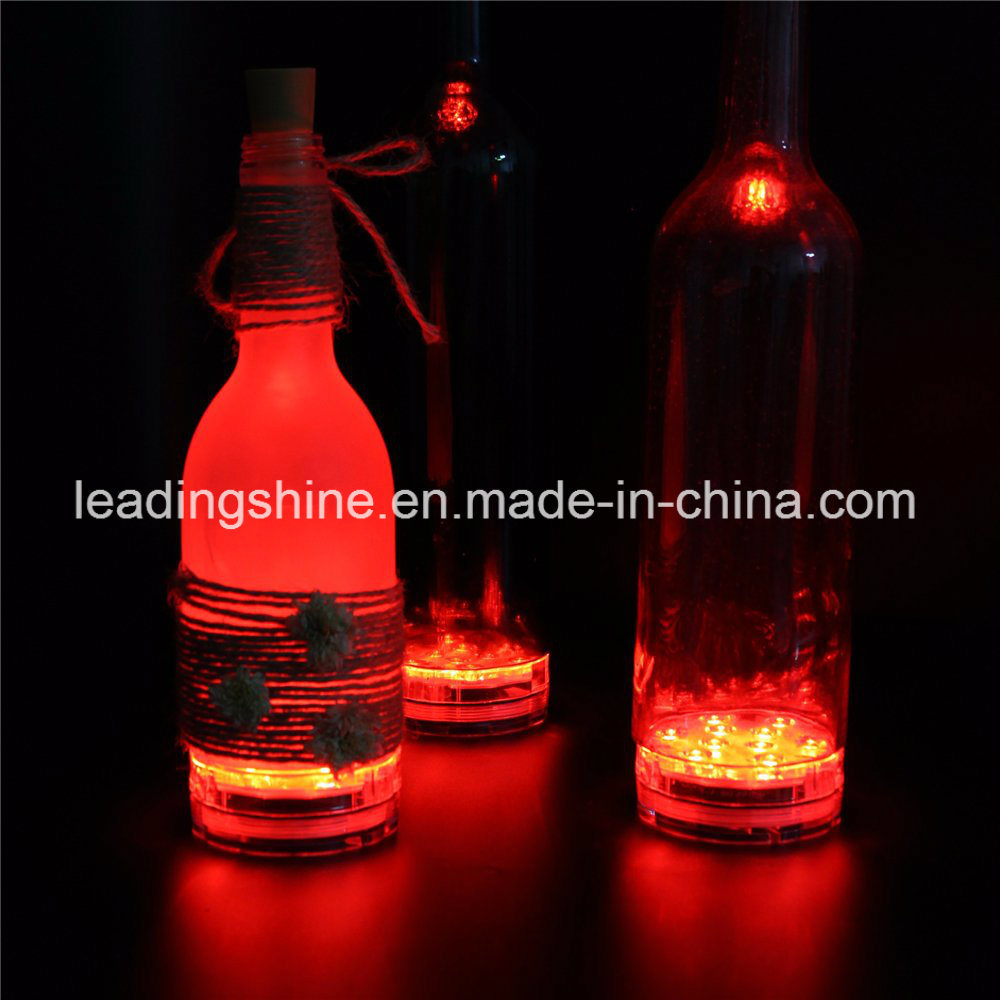Remote Control 10 Colorful Color-Changing Submersible Hookah Light Party Bar Wine Bottle Night Light Diffuser
