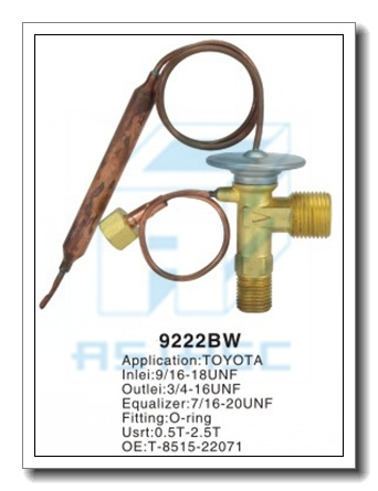 Customized Thermal Brass Expansion Valve for Auto Refrigeration MD9222bw