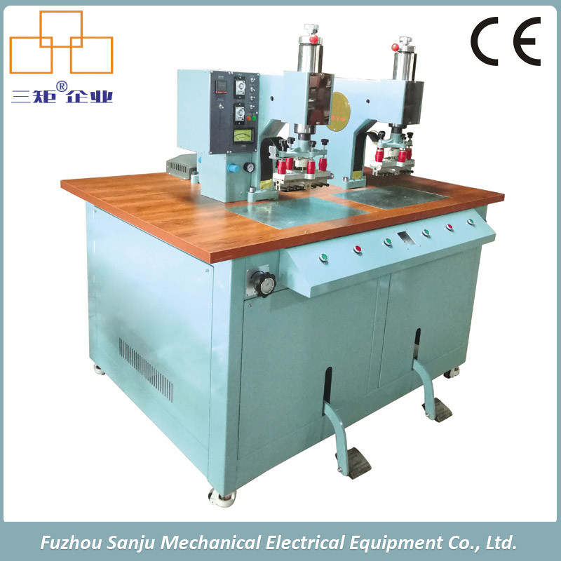 Ce Approved High Frequency Welding Machine of Single Side Double Station