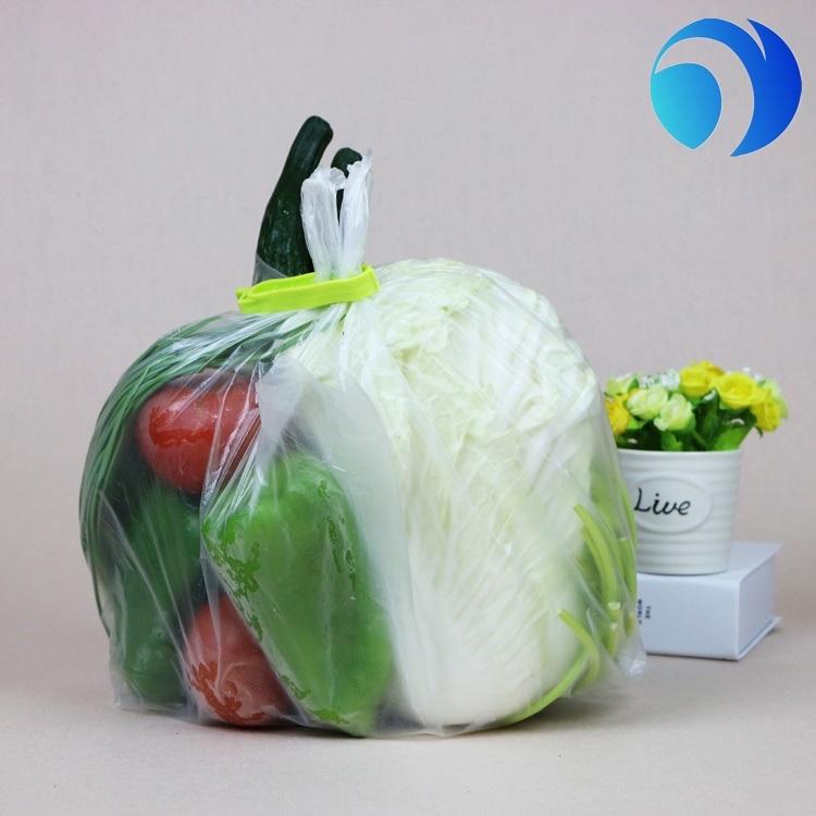 OEM Custom Printed Plastic Shopping Bag Carrier Bag T Shirt Plastic Bag