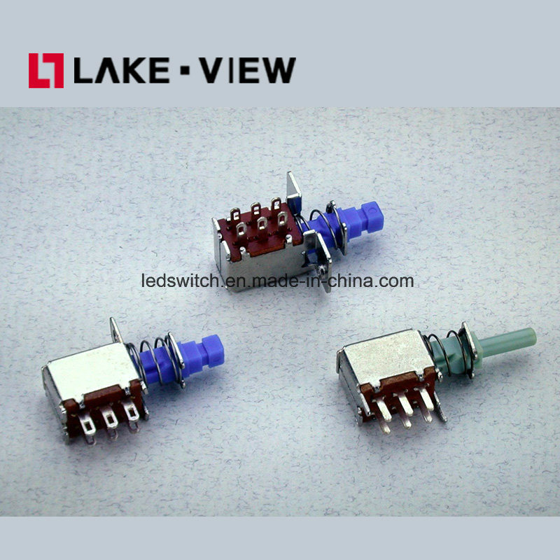 3A Lead Free Electronical Un-Locked Pushbutton Switch