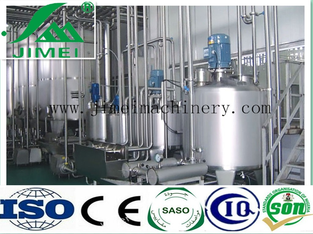 Complete Automatic Freeing Liquid Long Life Milk Processing Plant