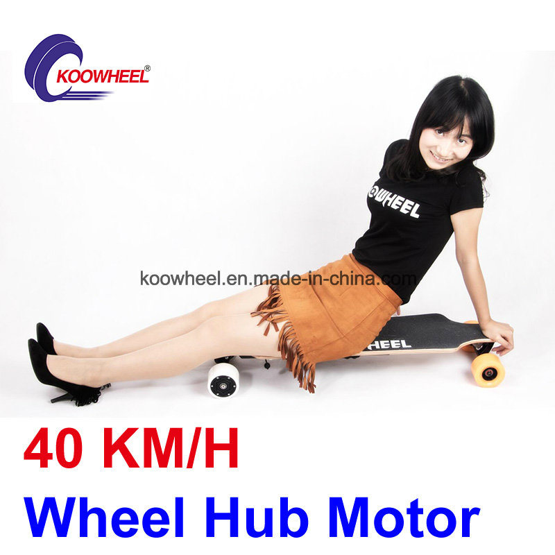 Dual Hub Motor 4 Wheels Electric Skateboard with Remote Control
