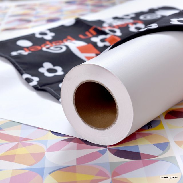 80GSM Sublimation Transfer Paper Roll for Polyester Textile