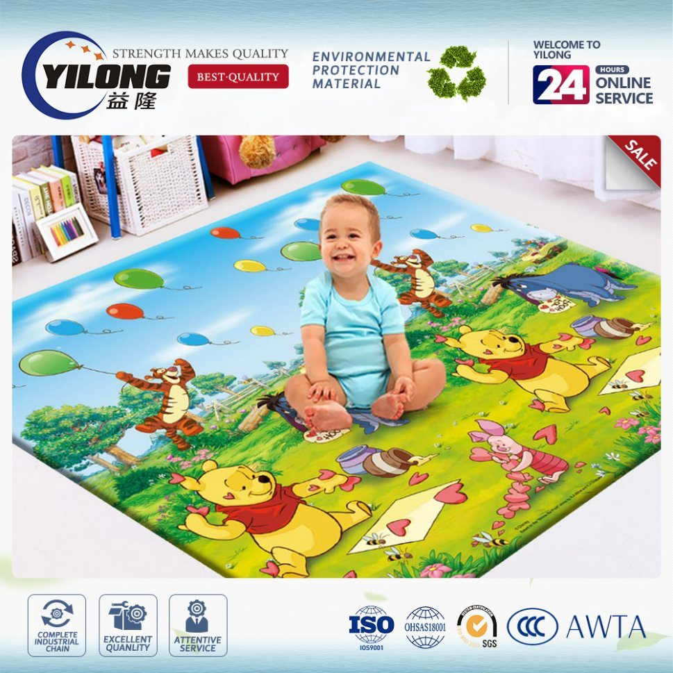 2017 Safe and Non Toxic Baby Play Gym Mats