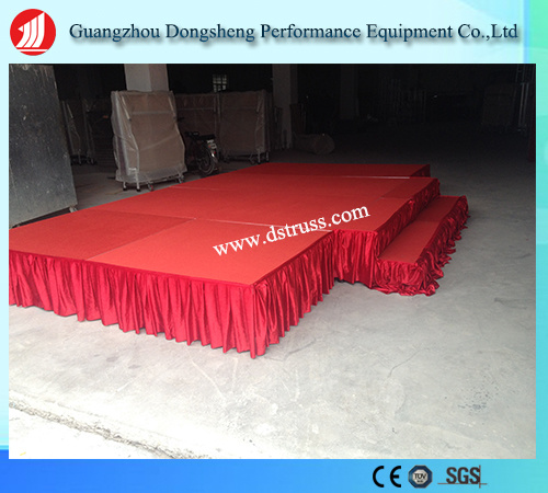 High Quality Moving Stage Aluminium Alloy Folding Stage