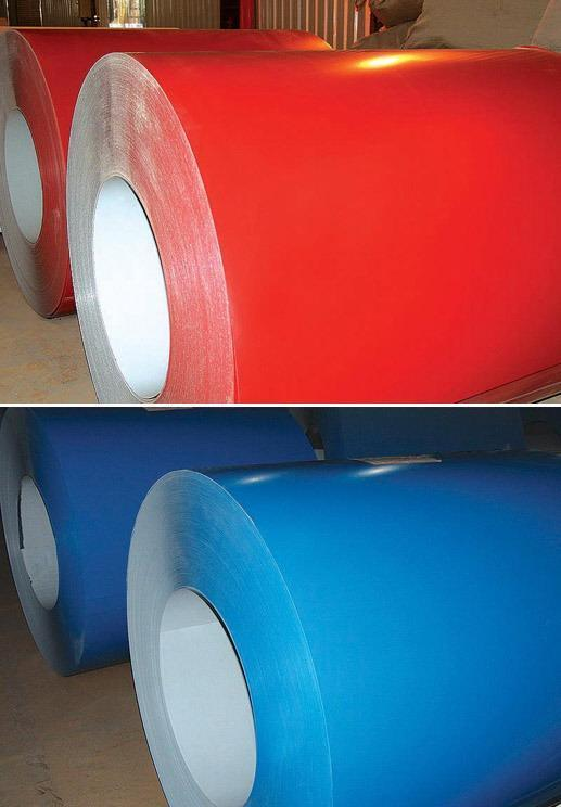 PPGI Color Coated Corrugated Steel Roofing Sheet