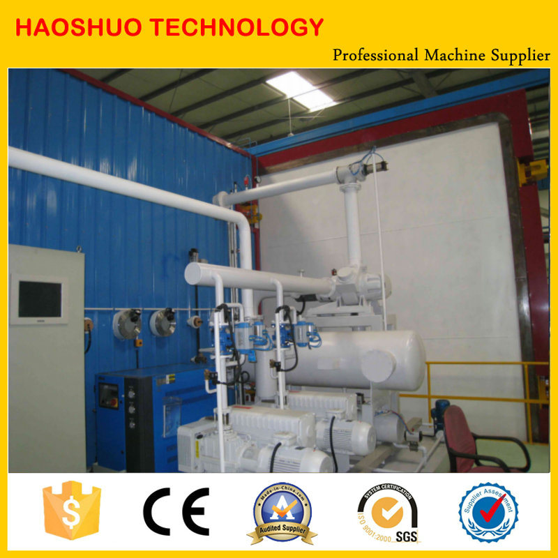 Vacuum Drying Oven for Drying Transformer Coil, Motors, etc