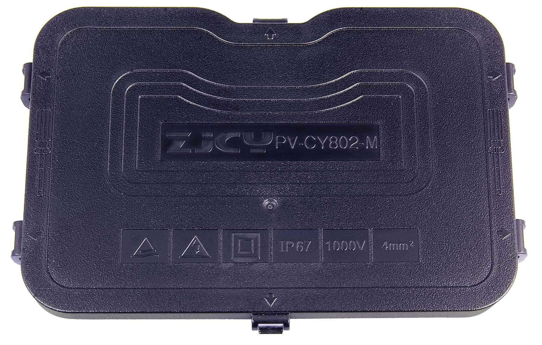Big Size Junction Box. Cooper Cover Junction Box 12A 4 Terminal for 72′′ Module. IP67