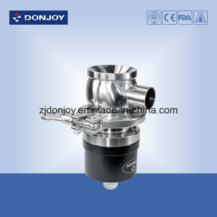 Ss 316L Welding Pneumatic Tank Bottom Diaphragm Valve Plastic Actuator