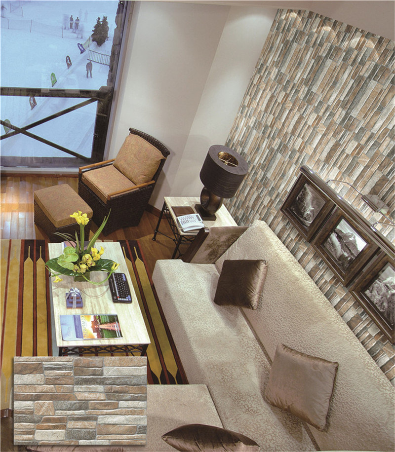 Ceramic Cultural Stone Brick Exterior Wall Tile (333X500mm)