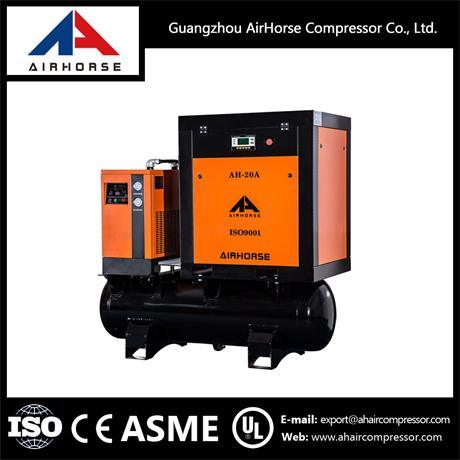 Hot Selling Industrial Combined Double Screw Air Compressor