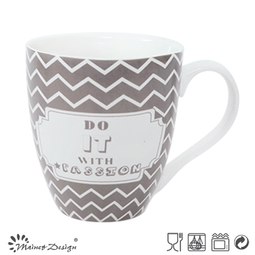 Eco-Friendly 20oz Custom Ceramic New Bone China Mug Cups