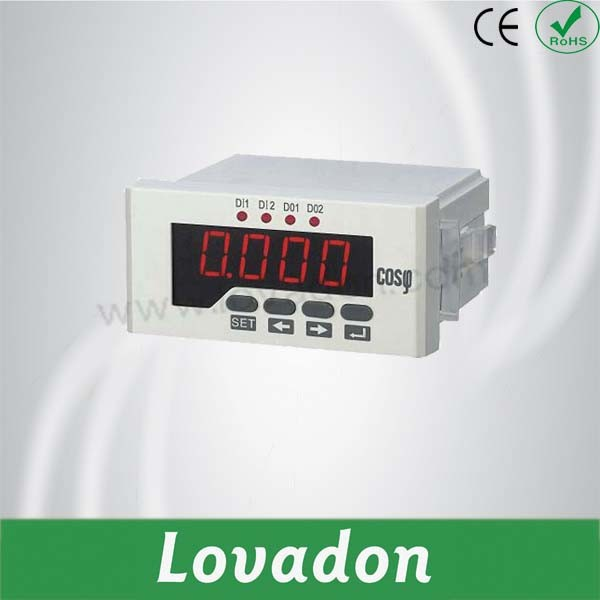 Newest Single Phase Intelligent Power Factor Meter