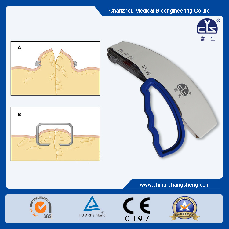 Single Use Skin Stapler