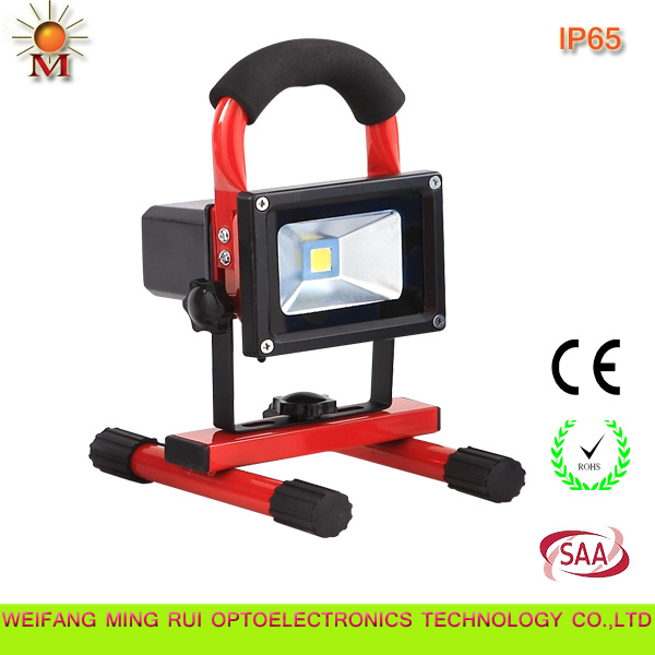 Portable Multifunction Rechargeable 10W LED Flood Lamp