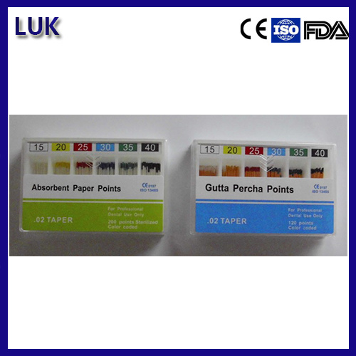 Manufacturer Dental Absorbent Paper Points/Gutta Percha Point (CE Approved)