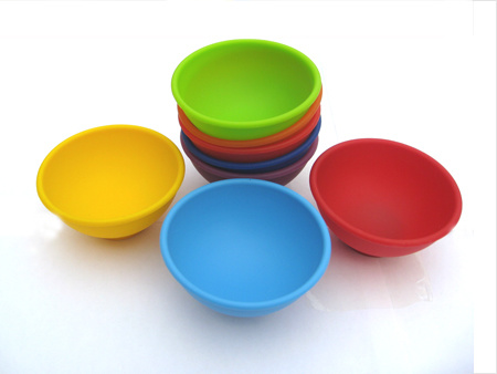 Food Grade Unbreakable Silicone Mini Bowl for Kids