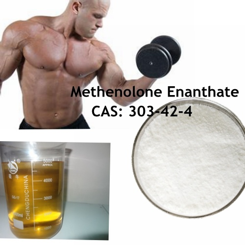 China 99% Methenolone Enanthate for Muscle CAS: 303-42-4