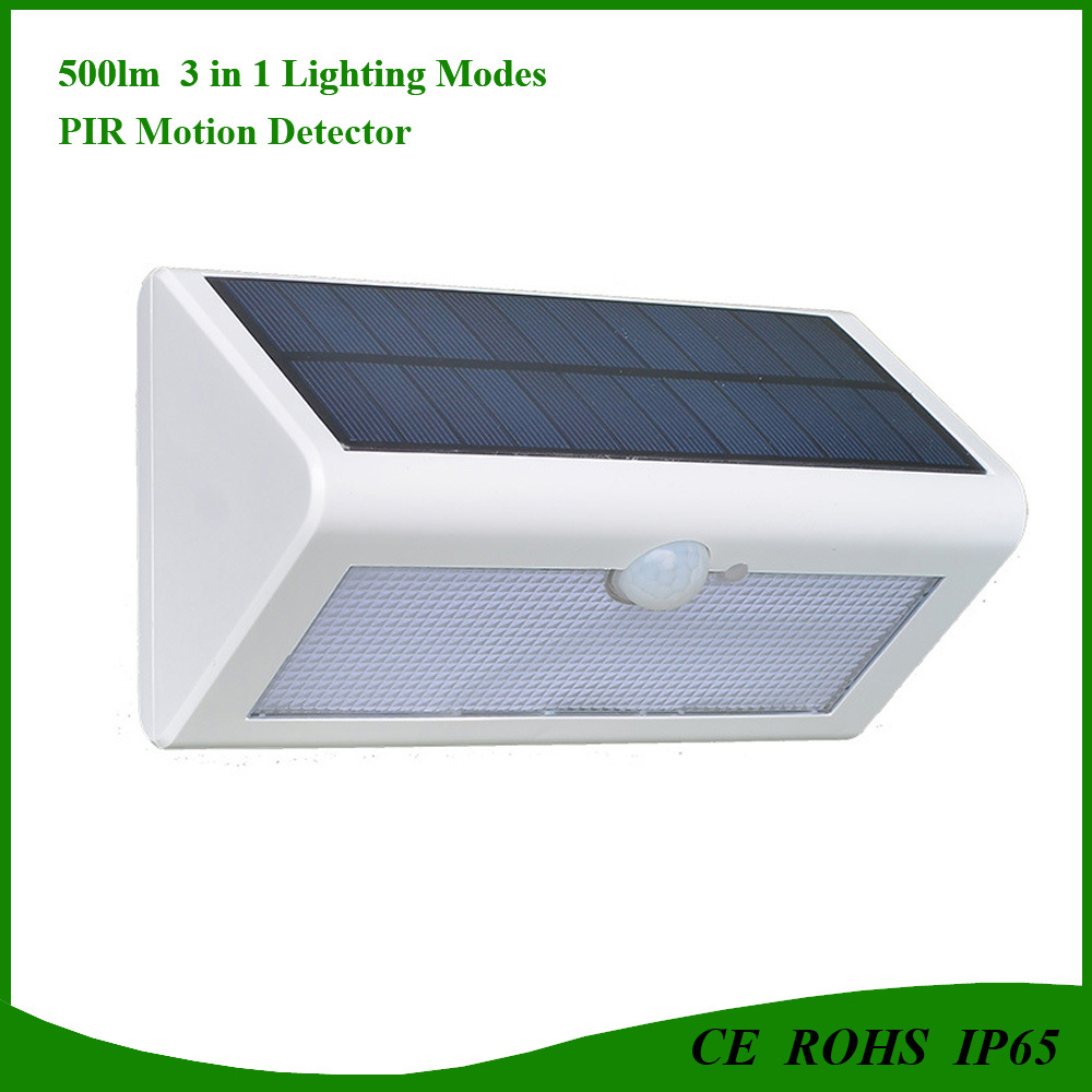 Waterproof IP65 Super Bright Solar 38LED PIR Motion Sensor Light