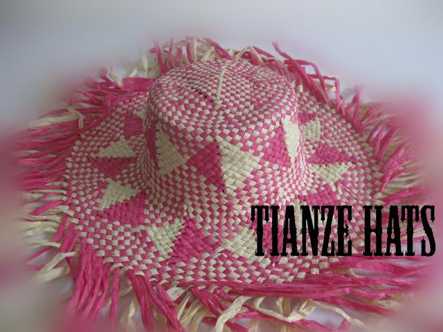 Colourful Paper Raffia Hat Body