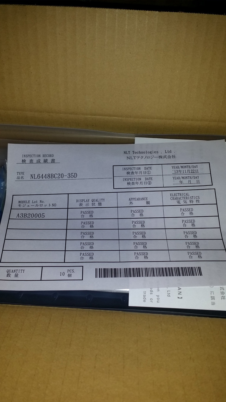 "Nl6448bc20-35D Nlt 6.5"" TFT LCD Module"