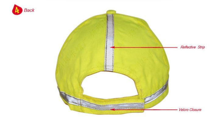 Fashion Reflective Cap, Made of Polyester Fabric