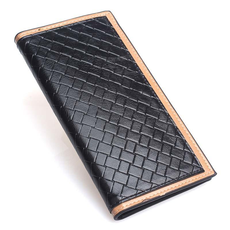 Factory Wholesale Leather Bag Men′s Shopping Purse Fashion Wallet (XQ0621)