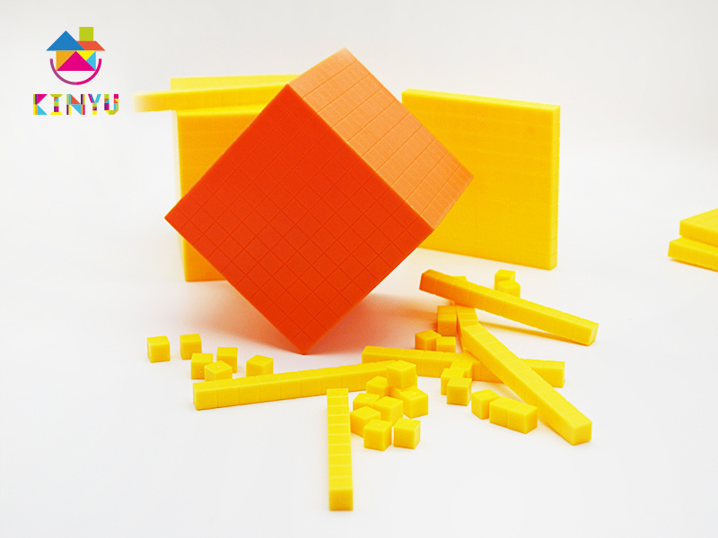 Base Ten Cubes for Math Education (K001)