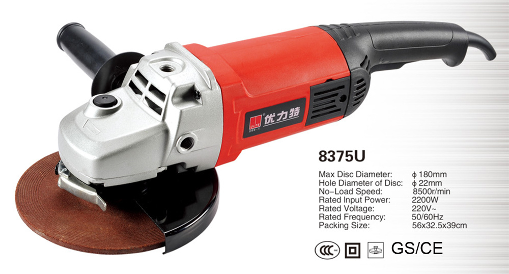 "Industrial Quality 9"" Electric Angle Grinder Power Tools Factory"