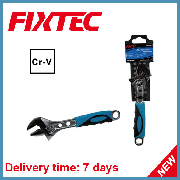 Fixtec Hand Tool CRV Material Adjustable Wrench