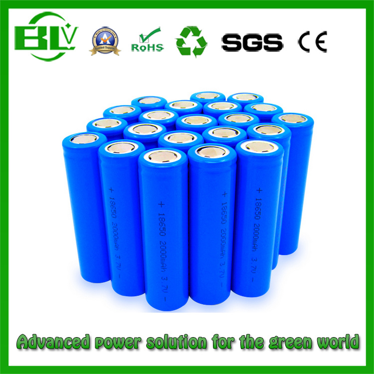18650 2600mAh Rechargeable Lithium Battery / 3.7V Lithium Ion Battery Touch Light Flashlight / Lithium Battery