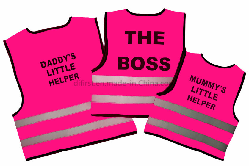 Reflective Safety Vest for Cute Baby with Certification