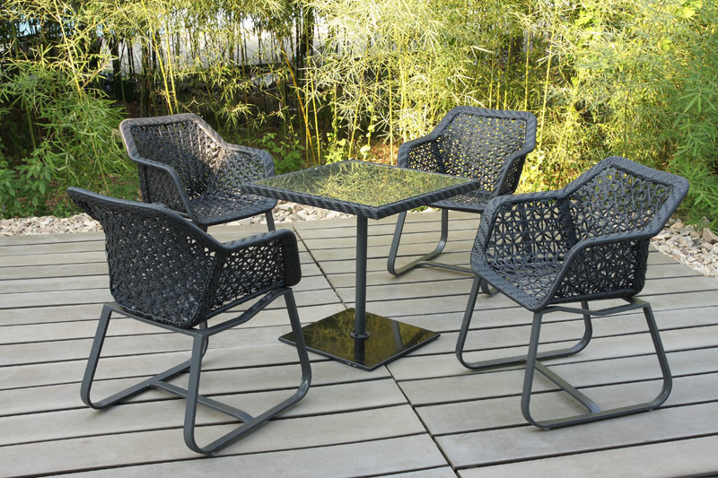 New Design European Hotel Rattan Patio Outdoor Furniture (FS-2200+ FS-2201)