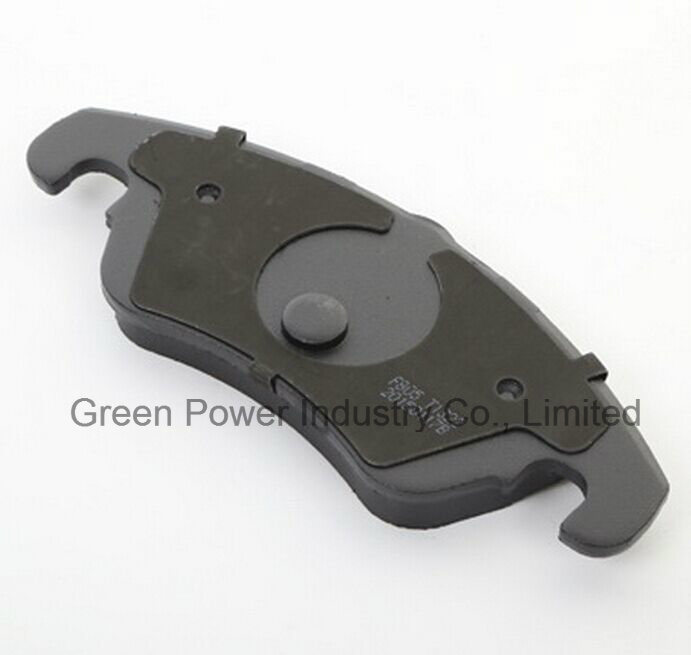 Auto Parts Non Asbestos Semi Metal Brake Pad