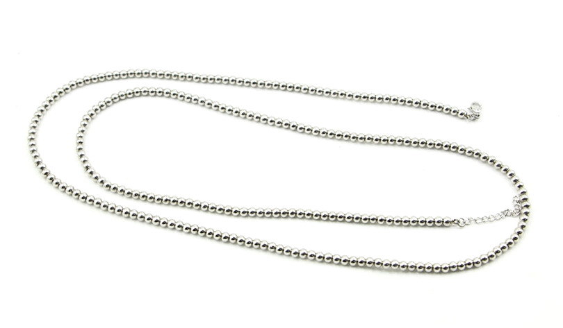 "Stainless Steel Silver Ball Chain - 12"" ~30"" Available"