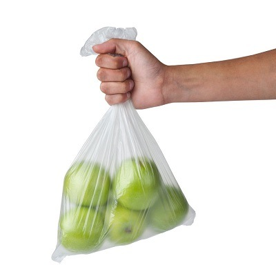 HDPE Plastic Fruit and Vegetable Roll Bag / Clear Bag