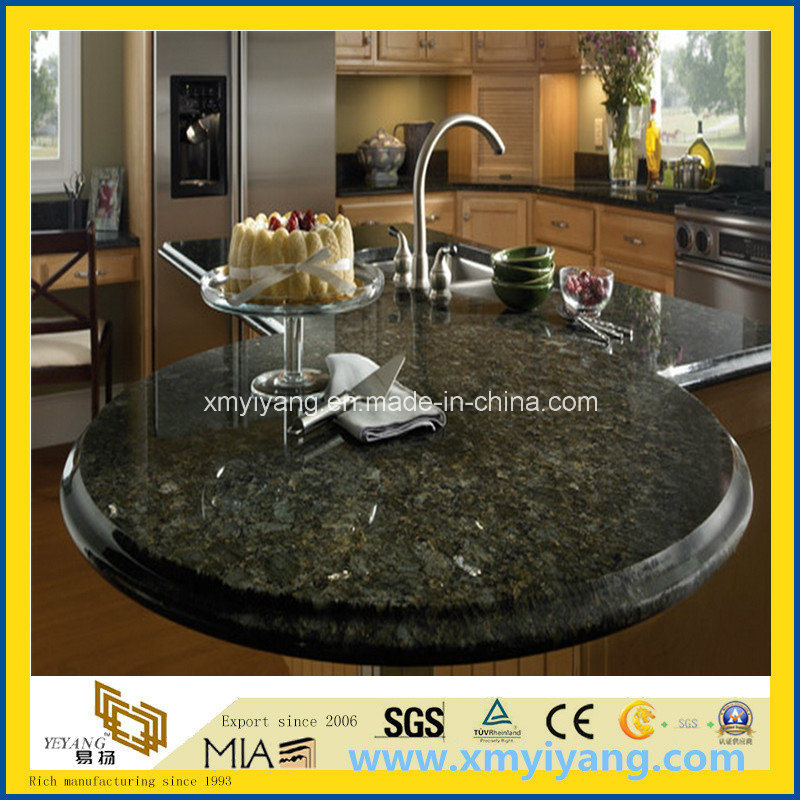 Verde Peacock Granite Kitchen Tops/Benchtops/Vanity Top/Table Top/Countertops