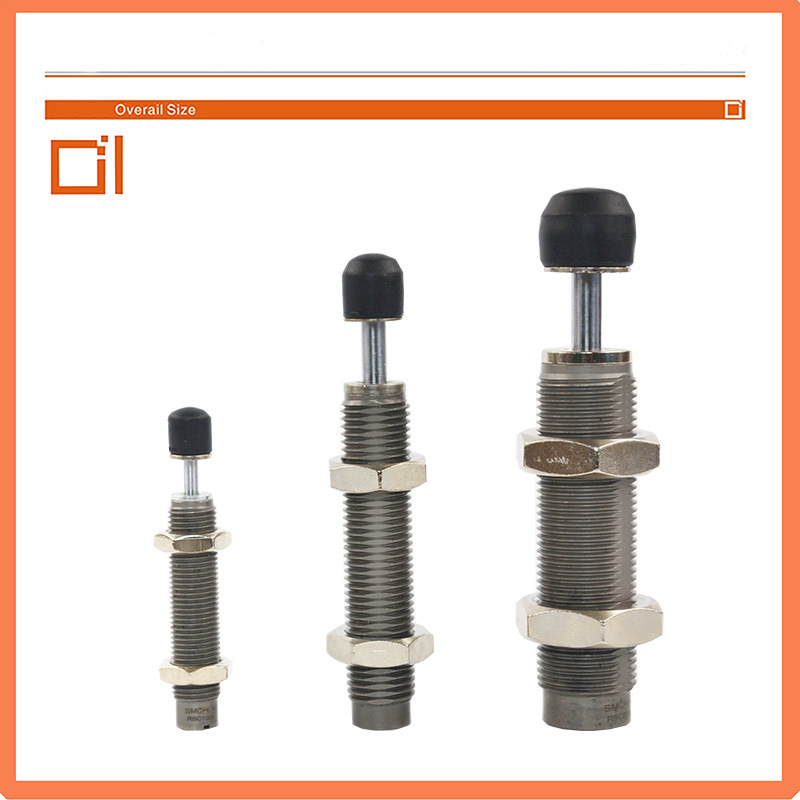 AC0806-S Series Small and Medium with Cap Hydraulic Shock Absorber