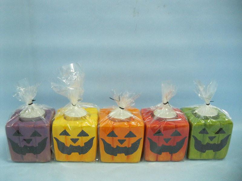 Halloween Candle Shape Ceramic Crafts (LOE2372A-7z)
