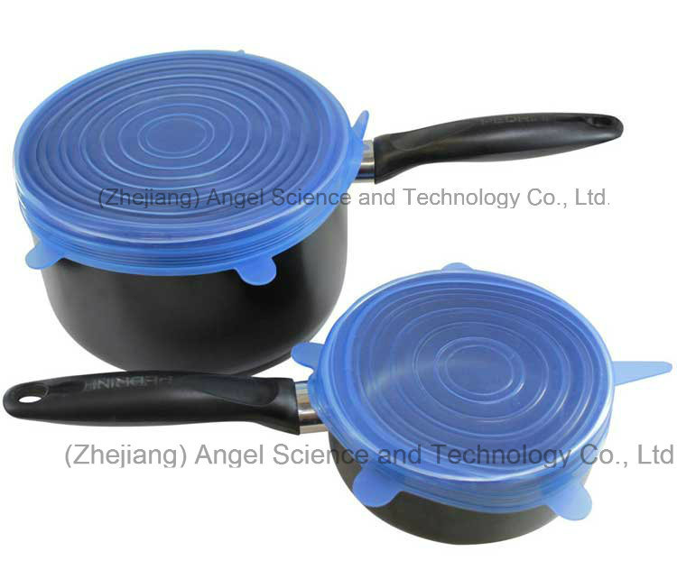 Hot Kitchen Silicone Food Cover, Silicone Stretch Lid, SL16