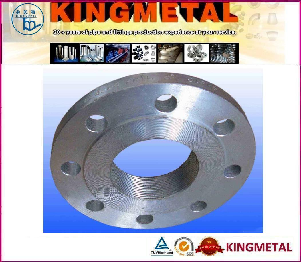 Forged Carbon Steel Threaded Flange
