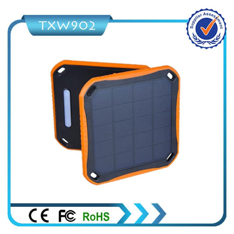 2 USB Solar Power Bank 5600 mAh for Mobile Phone
