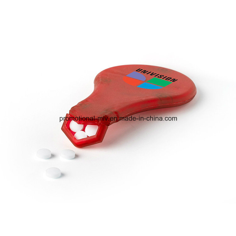 Fresh-Idea Bulbs Shaped Pill Box for Promotional Gifts