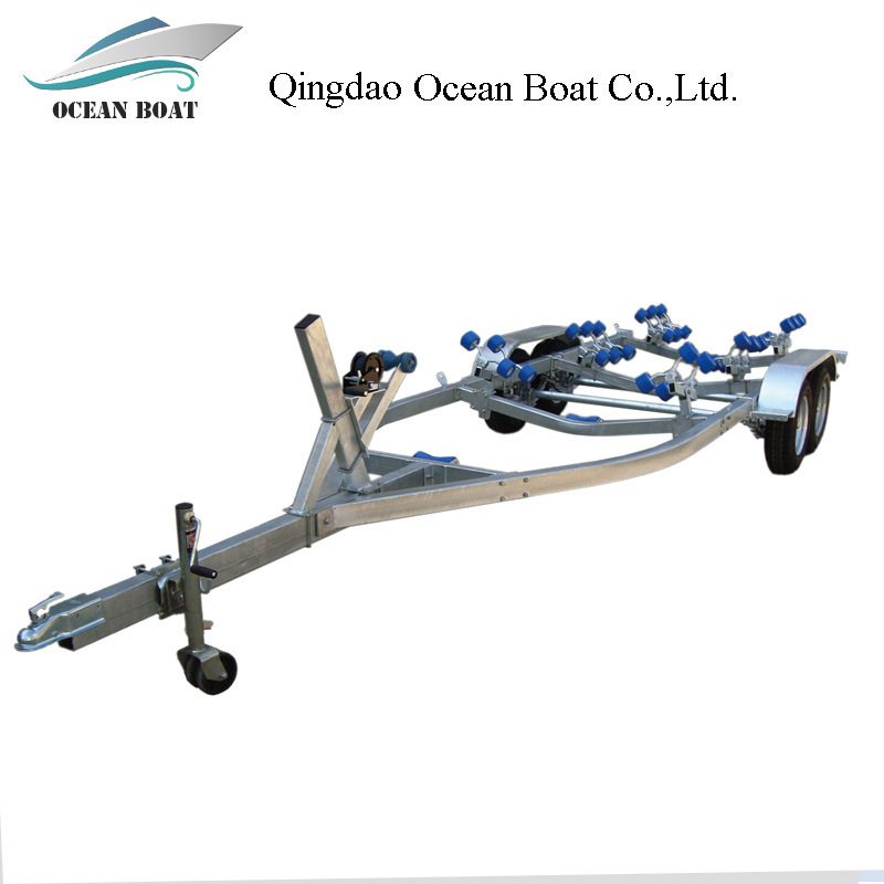 12FT 18FT Inflatable Hot Galvanizing Fishing Boat Trailer for Sale