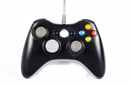 Wired Game Joypad for xBox 360/PC (SP6045-Black)