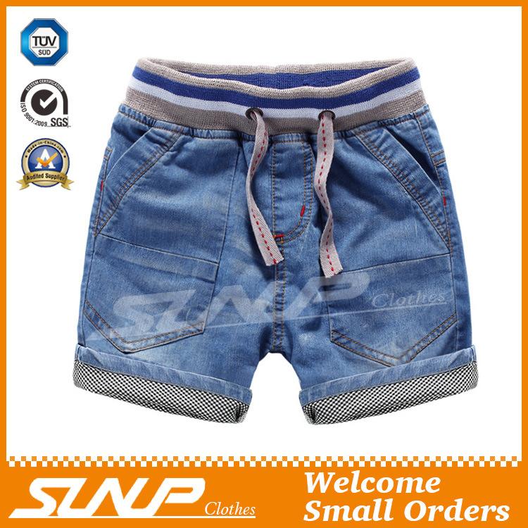 Boys 100% Cotton Denim Short Jean Pants