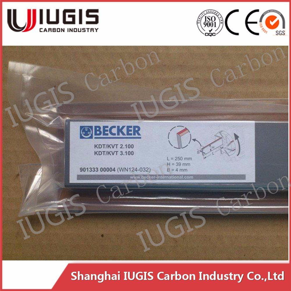 Wn 124-031 Graphite Sheet Vane for Becker Pump Ek60 90133400007